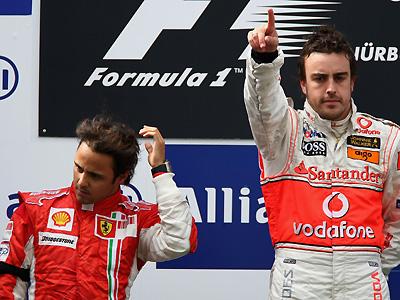 Alonso vibrante, Massaesfumeando