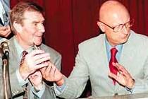 Com o govenador Esperidão Amin,2000