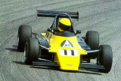 Ayrton Senna, Van Diemen FF2000, Hockenheim1982
