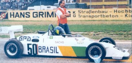Mario Bauer, Van Diemen FF2000, Hockenheim1982