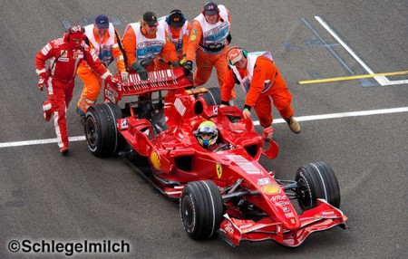 O drama de Silverstone