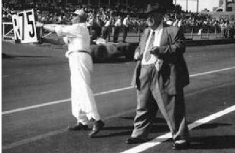 Alfred Neubauer inventou os pit boards