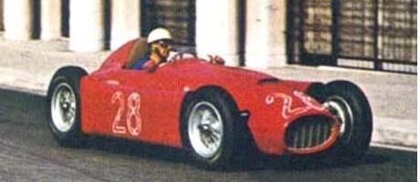 Luigi 'GiGi' Villoresi, Lancia D-50, Monaco1955