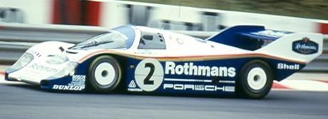 Stefan Bellof, Porsche 956, Spa1984