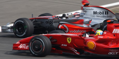 Alonso, Massa,2007