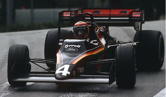 Stefan Bellof, Tyrrell 012/4-Ford, Monaco1984