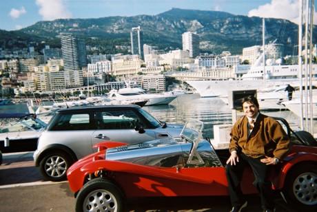 Mario Bauer, Lotus Seven, Monaco2002