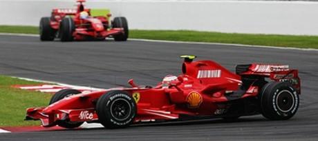 Räikkönen, Massa, Spa2007