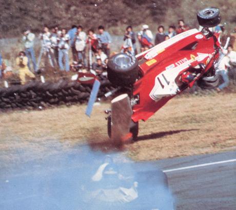 Gilles Villeneuve, Ronnie Peterson, Fuji 1977