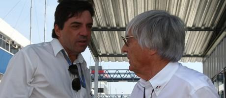 Mario Bauer & Bernie Ecclestone, 2007