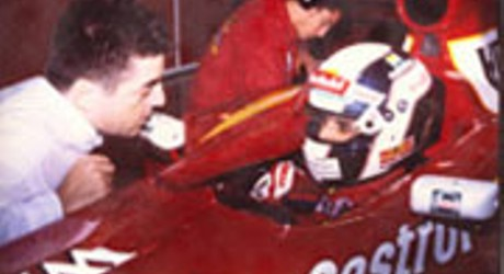Mario Bauer & Max Wilson, Williams-Test, Barcelona 1999
