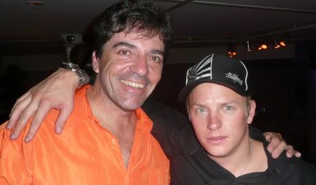 Mario Bauer & Kimi Räikkönen, São Paulo, 21/10/07
