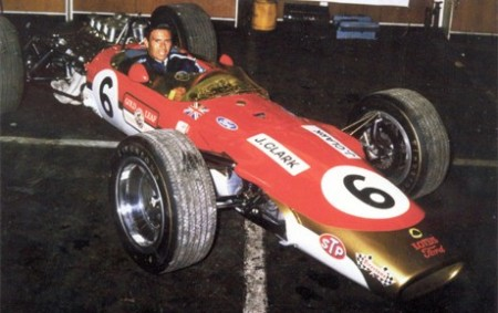 Jim Clark, Lotus 49T-Cosworth 2.5 V8, 1968