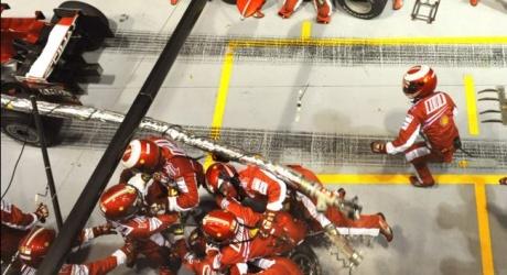 Ferrari's pit stop plunder at Singapore