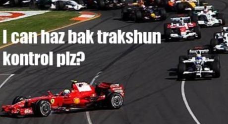 Massa wants traction control back